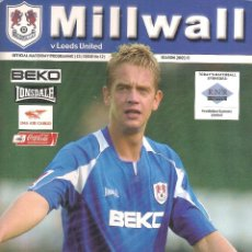 Coleccionismo deportivo: PROGRAMA MILLWALL V. LEEDS UNITED (TEMP. 2005/06 05/06). Lote 71833059