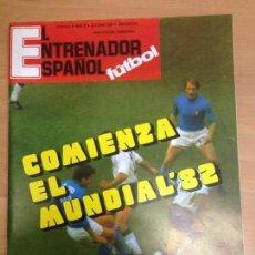 Coleccionismo deportivo: REVISTA EL ENTRENADOR ESPAÑOL FUTBOL Nº6 OCTUBRE 1980. Lote 72107367