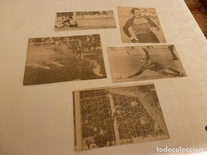 13 RECORTES PRENSA MIGUEL ANGEL(REAL MADRID)-LOTE 1-VER FOTOS. (Coleccionismo Deportivo - Revistas y Periódicos - otros Fútbol)