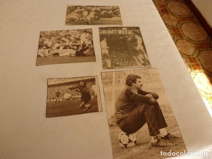Coleccionismo deportivo: 13 RECORTES PRENSA MIGUEL ANGEL(REAL MADRID)-LOTE 1-VER FOTOS. - Foto 2 - 72115083