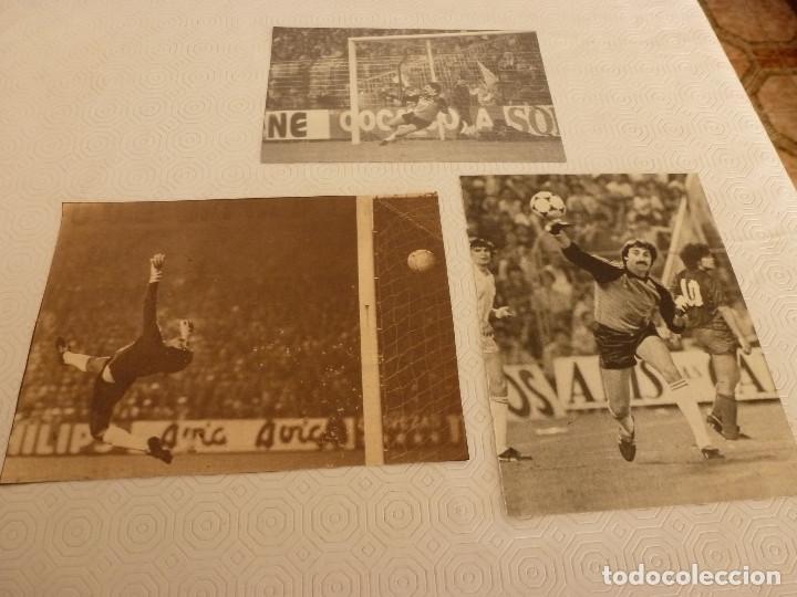 Coleccionismo deportivo: 13 RECORTES PRENSA MIGUEL ANGEL(REAL MADRID)-LOTE 1-VER FOTOS. - Foto 3 - 72115083