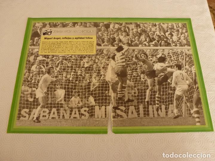10 RECORTES PRENSA MIGUEL ANGEL(REAL MADRID)-LOTE 2-VER FOTOS. (Coleccionismo Deportivo - Revistas y Periódicos - otros Fútbol)