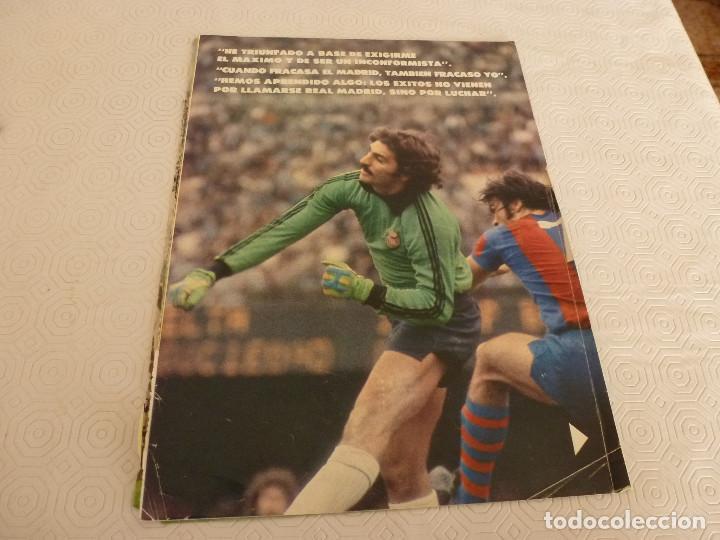 Coleccionismo deportivo: 10 RECORTES PRENSA MIGUEL ANGEL(REAL MADRID)-LOTE 2-VER FOTOS. - Foto 2 - 72115291