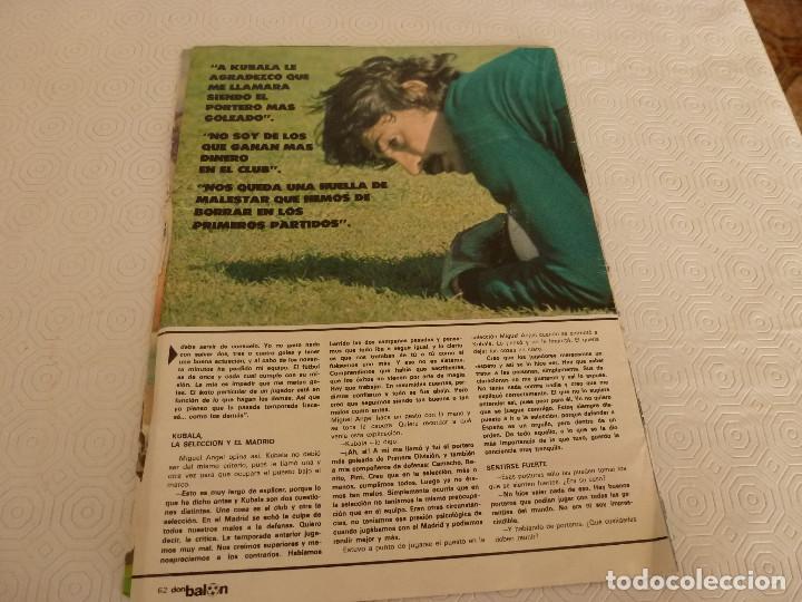 Coleccionismo deportivo: 10 RECORTES PRENSA MIGUEL ANGEL(REAL MADRID)-LOTE 2-VER FOTOS. - Foto 3 - 72115291