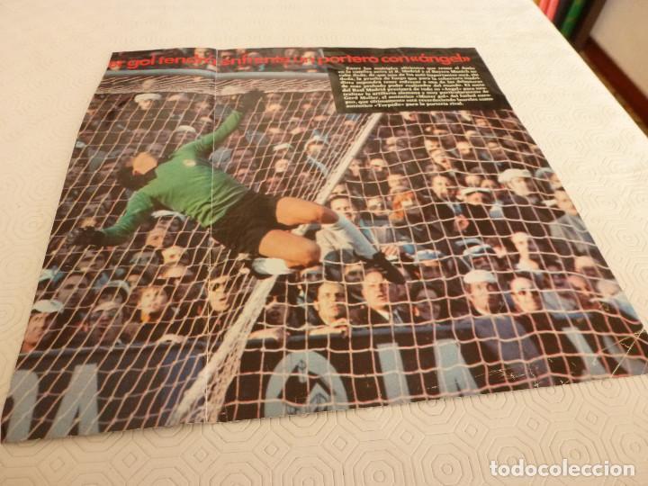 Coleccionismo deportivo: 10 RECORTES PRENSA MIGUEL ANGEL(REAL MADRID)-LOTE 2-VER FOTOS. - Foto 7 - 72115291