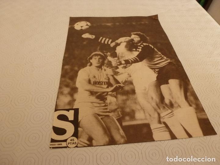 Coleccionismo deportivo: 10 RECORTES PRENSA MIGUEL ANGEL(REAL MADRID)-LOTE 2-VER FOTOS. - Foto 8 - 72115291