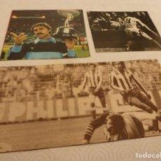 Coleccionismo deportivo: 12 RECORTES PRENSA MIGUEL ANGEL(REAL MADRID)-LOTE 4-VER FOTOS.. Lote 72116475
