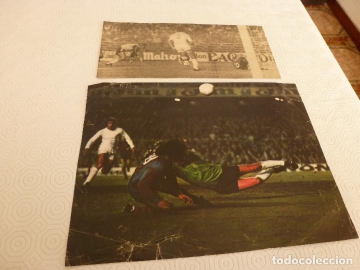 9 RECORTES PRENSA MIGUEL ANGEL(REAL MADRID)-LOTE 5-VER FOTOS. (Coleccionismo Deportivo - Revistas y Periódicos - otros Fútbol)