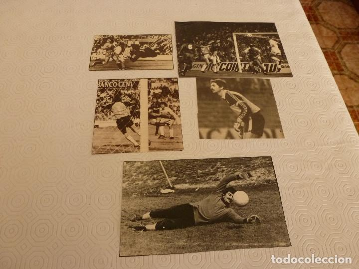 Coleccionismo deportivo: 9 RECORTES PRENSA MIGUEL ANGEL(REAL MADRID)-LOTE 5-VER FOTOS. - Foto 2 - 72116739