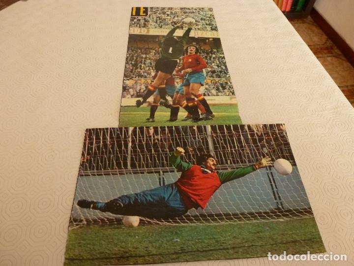 Coleccionismo deportivo: 9 RECORTES PRENSA MIGUEL ANGEL(REAL MADRID)-LOTE 5-VER FOTOS. - Foto 3 - 72116739