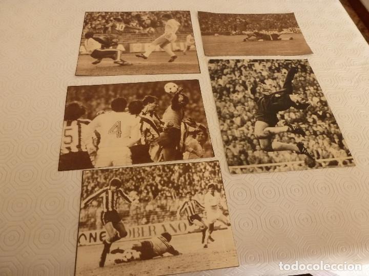 10 RECORTES PRENSA MIGUEL ANGEL(REAL MADRID)-LOTE 6-VER FOTOS. (Coleccionismo Deportivo - Revistas y Periódicos - otros Fútbol)