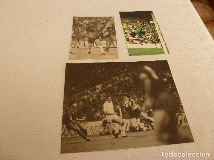 12 RECORTES PRENSA MIGUEL ANGEL(REAL MADRID)-LOTE 8-VER FOTOS. (Coleccionismo Deportivo - Revistas y Periódicos - otros Fútbol)