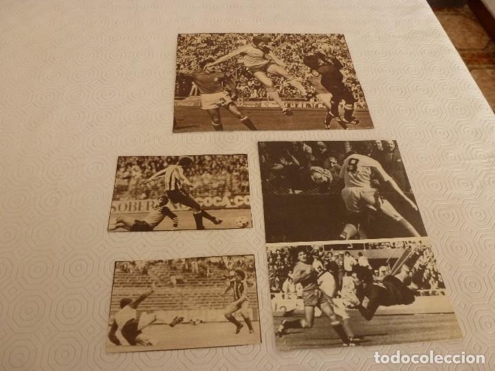 Coleccionismo deportivo: 12 RECORTES PRENSA MIGUEL ANGEL(REAL MADRID)-LOTE 8-VER FOTOS. - Foto 2 - 72117379