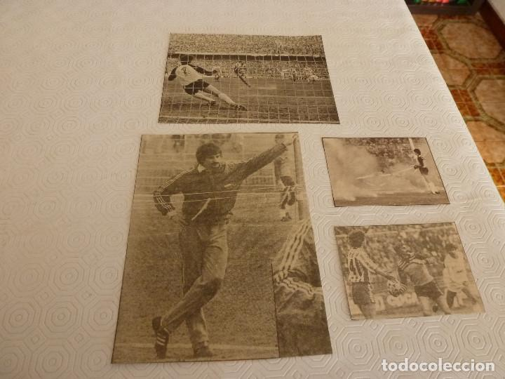 Coleccionismo deportivo: 12 RECORTES PRENSA MIGUEL ANGEL(REAL MADRID)-LOTE 8-VER FOTOS. - Foto 3 - 72117379