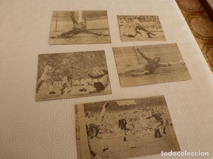 14 RECORTES PRENSA MIGUEL ANGEL(REAL MADRID)-LOTE 9-VER FOTOS. (Coleccionismo Deportivo - Revistas y Periódicos - otros Fútbol)