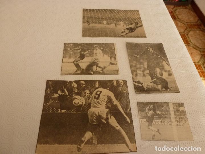 Coleccionismo deportivo: 14 RECORTES PRENSA MIGUEL ANGEL(REAL MADRID)-LOTE 9-VER FOTOS. - Foto 2 - 72117603