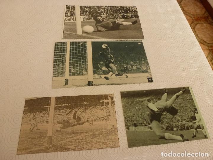 Coleccionismo deportivo: 14 RECORTES PRENSA MIGUEL ANGEL(REAL MADRID)-LOTE 9-VER FOTOS. - Foto 3 - 72117603