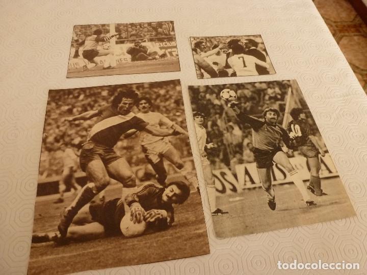 12 RECORTES PRENSA MIGUEL ANGEL(REAL MADRID)-LOTE 10-VER FOTOS. (Coleccionismo Deportivo - Revistas y Periódicos - otros Fútbol)