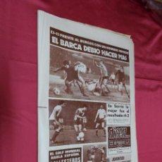 Coleccionismo deportivo: DICEN.ESPAÑOL 4, CADIZ 2. EL BARÇADEBIO HACER MAS. Nº 3991. 12 DICIEMBRE 1977.. Lote 72778099