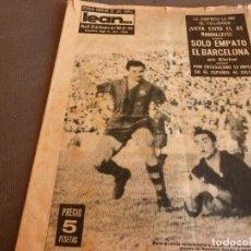 Coleccionismo deportivo: REVISTA LEAN Nº:375(22-10-62)ELCHE Y BARÇA EMPATE !!GRAN PAZOS!!ESPAÑOL 3 CELTA 1,HOCKEY JUVENIL.. Lote 72781723