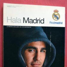 Coleccionismo deportivo: HALA MADRID - REVISTA MADRIDISTAS - DICIEMBRE 2006 FEBRERO 2007 Nº 21. Lote 73013815