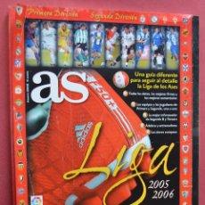 Coleccionismo deportivo: AS - GUIA DE LA LIGA 2005 2006 . Lote 73014179