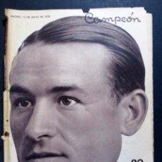 Collectionnisme sportif: REVISTA DE FÚTBOL CAMPEÓN Nº 127 - PORTADA CICLISMO CAÑARDO , PRIMERA VUELTA ESPAÑA - 12 MAYO 1935. Lote 73015935