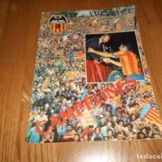 Coleccionismo deportivo: REVISTA DEL VALENCIA C.F. COPA DEL REY Nº 30 Y 31 VERANO 1979 PUBLICIDAD SKOL. Lote 73060287