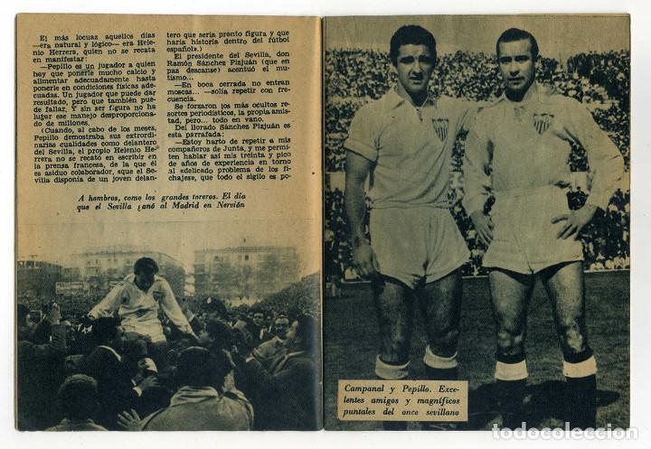 Coleccionismo deportivo: SEVILLA FC. PEPILLO Colección Idolos del deporte nº 40. Año 1959. Ver fotos - Foto 2 - 73300459