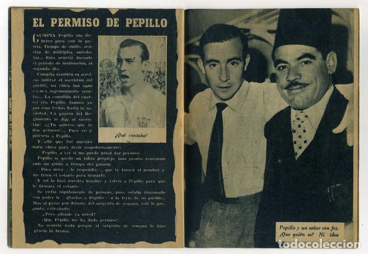 Coleccionismo deportivo: SEVILLA FC. PEPILLO Colección Idolos del deporte nº 40. Año 1959. Ver fotos - Foto 3 - 73300459