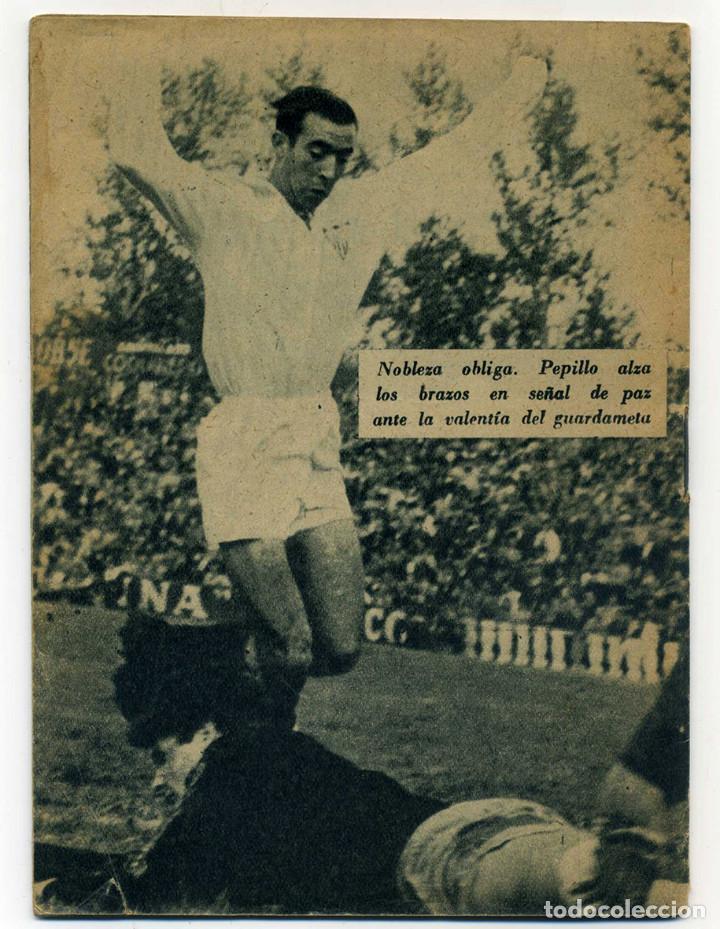 Coleccionismo deportivo: SEVILLA FC. PEPILLO Colección Idolos del deporte nº 40. Año 1959. Ver fotos - Foto 4 - 73300459