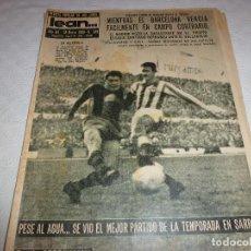 Coleccionismo deportivo: LEAN(28-3-60)!!BETIS 0 BARÇA 3 !!ESPAÑOL 3 SEVILLA 1. Lote 73655183