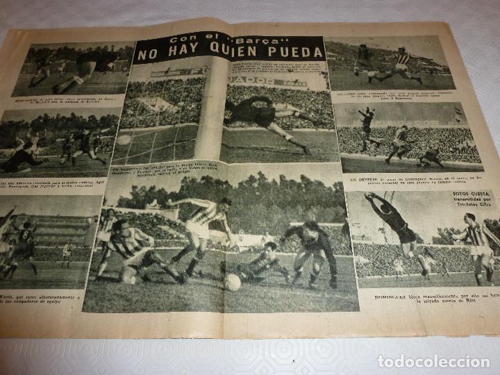 Coleccionismo deportivo: LEAN(28-3-60)!!BETIS 0 BARÇA 3 !!ESPAÑOL 3 SEVILLA 1 - Foto 3 - 73655183