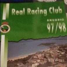 Coleccionismo deportivo: ANUARIO 97/98 DEL REAL RACING CLUB DE SANTANDER. Lote 73718675