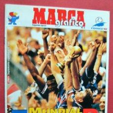 Coleccionismo deportivo: MARCA GRAFICO Nº 3 - MUNDIAL TRICOLOR - FRANCE 98 - FRANCIA 1998 - SUPLEMENTO EPOCA 700 - CEPSA. Lote 73725591