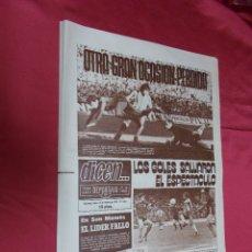 Coleccionismo deportivo: DICEN. AT. MADRID 1 - F.C. BARCELONA 0. ESPAÑOL 4 - BURGOS 1. Nº 1043. 13 FEBRERO 1978.. Lote 74172107