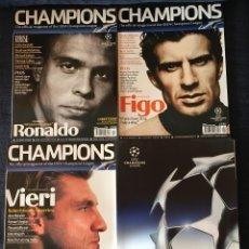 Coleccionismo deportivo: REVISTAS CHAMPIONS LEAGUE 2003-2004. Lote 74233071