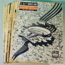 Coleccionismo deportivo: 24 EJEMPLARES DEL BOLETIN OFICIAL DEL C. DE F. BARCELONA. AÑOS 1962 A 1965. VER NÚMEROS. Lote 74816619