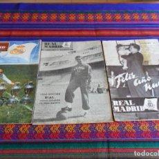Coleccionismo deportivo: BOLETÍN INFORMATIVO REAL MADRID NÚMERO EXTRAORDINARIO FELIZ AÑO NUEVO 1953 Y Nº 50. REGALO Nº 205.. Lote 75200971