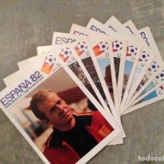 Coleccionismo deportivo: LOTE BOLEIN COPA DEL MUNDO ESPAÑA 82. Lote 75258923
