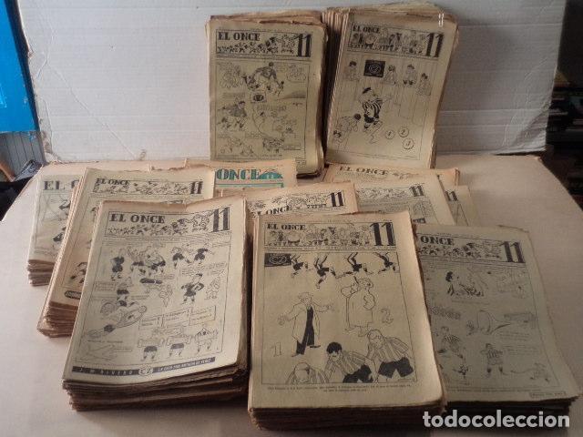 LOTE REVISTA DEPORTIVA ONCE - AÑOS 1946-1957 - 500 REVISTAS (Coleccionismo Deportivo - Revistas y Periódicos - otros Fútbol)