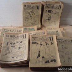 Coleccionismo deportivo: LOTE REVISTA DEPORTIVA ONCE - AÑOS 1946-1957 - 500 REVISTAS. Lote 75308067