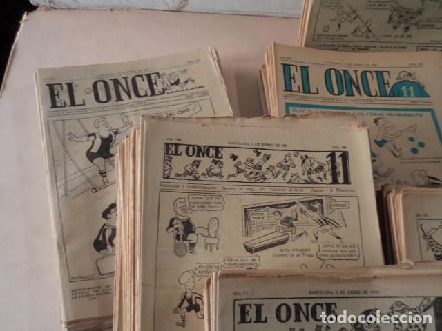Coleccionismo deportivo: LOTE REVISTA DEPORTIVA ONCE - AÑOS 1946-1957 - 500 REVISTAS - Foto 2 - 75308067