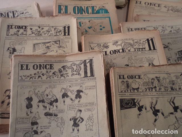 Coleccionismo deportivo: LOTE REVISTA DEPORTIVA ONCE - AÑOS 1946-1957 - 500 REVISTAS - Foto 3 - 75308067