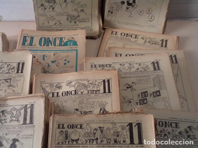 Coleccionismo deportivo: LOTE REVISTA DEPORTIVA ONCE - AÑOS 1946-1957 - 500 REVISTAS - Foto 4 - 75308067