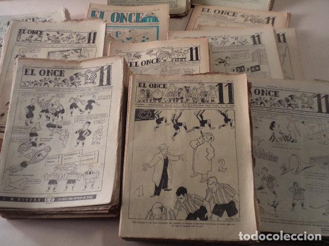 Coleccionismo deportivo: LOTE REVISTA DEPORTIVA ONCE - AÑOS 1946-1957 - 500 REVISTAS - Foto 5 - 75308067