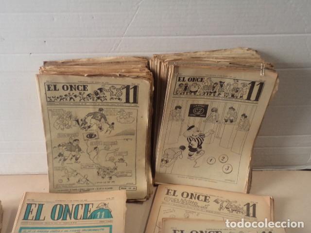 Coleccionismo deportivo: LOTE REVISTA DEPORTIVA ONCE - AÑOS 1946-1957 - 500 REVISTAS - Foto 6 - 75308067