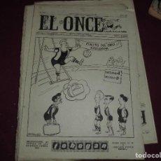 Coleccionismo deportivo: LOTE 90 EJEMPLARES DE LA REVISTA EL ONCE, MAS DOS ALMANAQUES. Lote 75921327