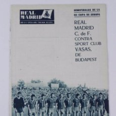 Collectionnisme sportif: REVISTA OFICIAL REAL MADRID, Nº 93, ABRIL 1958, TIENE 32 PGS. PROFUSAMENTE ILUSTRADAS Y CON PUBLICID. Lote 76931025