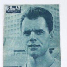 Coleccionismo deportivo: REVISTA OFICIAL REAL MADRID, Nº 148, SEPTIEMBRE 1962, LUCIEN MULLER SCHMIDT, TIENE 32 PGS. PROFUSAME. Lote 76942721